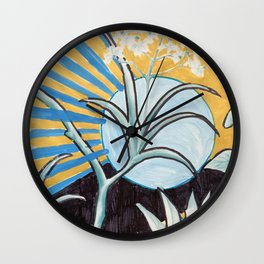 gift wrap intervention 01, 2016 Wall Clock
