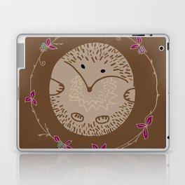 Autumn Hedgehog Laptop & iPad Skin