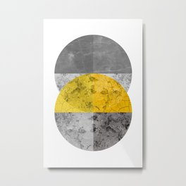 Geometric Composition 6 Metal Print