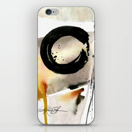 Enso Abstraction No. 105 by Kathy morton Stanion iPhone Skin