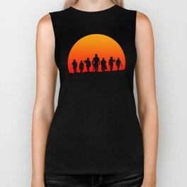 Western Sunset Biker Tank