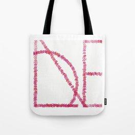 Love Print Tote Bag
