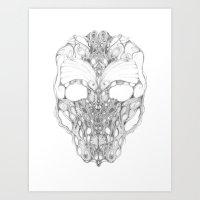 Liyre Art Print