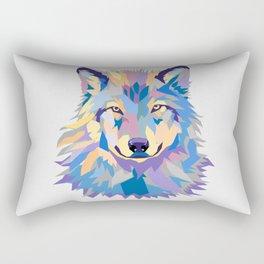 Wild Wolf Rectangular Pillow