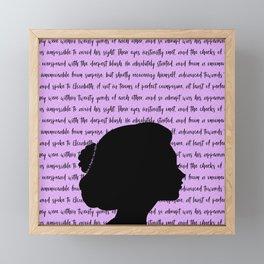 Elizabeth Bennet Framed Mini Art Print