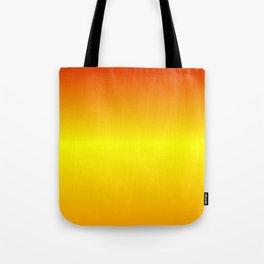 Horizontal Red, Yellow and Orange Gradient Tote Bag
