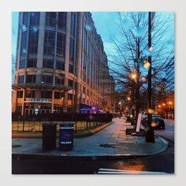 9th Street Blues Canvas Print
