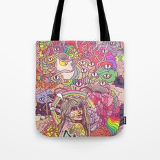Feral Kittens Tote Bag