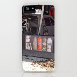 City Boys Not Allowed iPhone Case