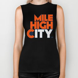 Mile High City - B Biker Tank