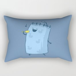 Singing In The Shower? Rectangular Pillow