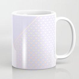 Heartless 2 - Periwinkle +Pink/ White Coffee Mug