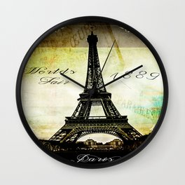 The Worlds Fair of 1889 Wall Clock