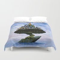 magritte Duvet Covers featuring Emissary by Nathan Spoor