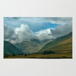 Cloudy afternoon in Connamara Rug