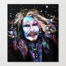 Steven Tyler Psychedelic - Rockstar Collection Canvas Print