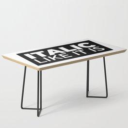 // Italic Like It Is // Coffee Table