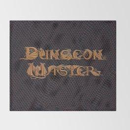 Dracoserific Dungeon Master Throw Blanket