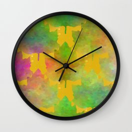 Vision Of Loveliness Wall Clock