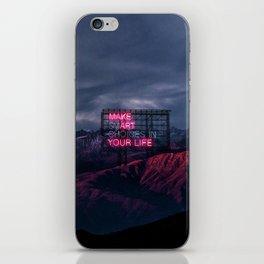 make art iPhone Skin