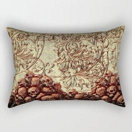 Skull n blood Rectangular Pillow
