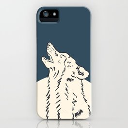 Pra Loup Howling Wolf iPhone Case