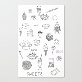 Sweets! Canvas Print