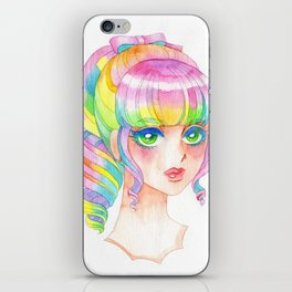 A Rainbow Doll 0824 iPhone Skin