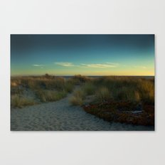 Stinson Beach at Sunset Canvas Print