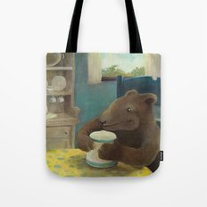 Little Bear and the cookie jar Tote Bag
