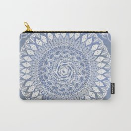 Paisley Moon Henna Mandala Carry-All Pouch