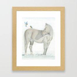 Free Ride Framed Art Print