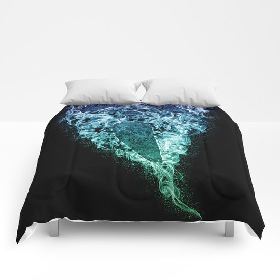 Death (Color) Comforters