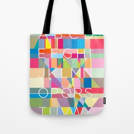 Letters3 Tote Bag