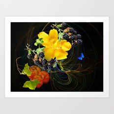 Nature's Gifts. Art Print
