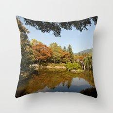 Almost Autumn Throw Pillow