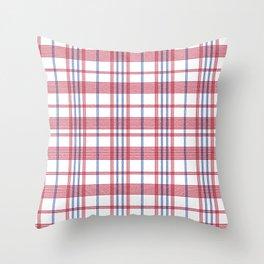 Hong Kong Red-white-blue bag Throw Pillow