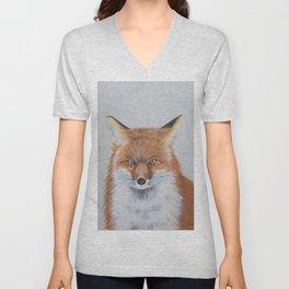 Foxy the Fox Unisex V-Neck