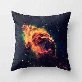 Galaxy Space Cosmos Photography Throw Pillow