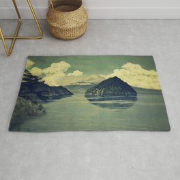 Distant Blues Rug