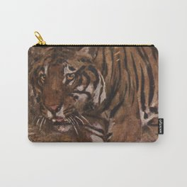 Vintage Tiger Painting (1909) Carry-All Pouch
