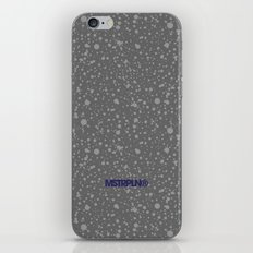 Trail Status / Stone Grey iPhone & iPod Skin