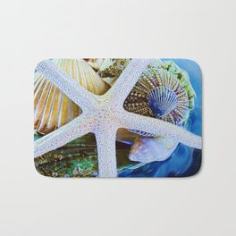 All the Colors of the Sea Bath Mat