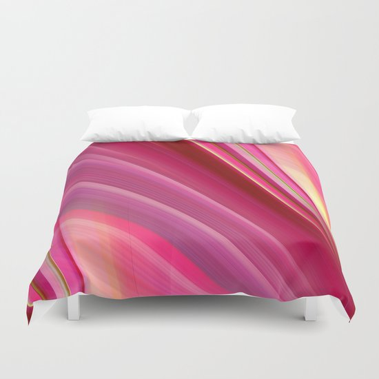 Pink is really beautiful  Duvet Cover
