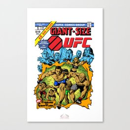 UFC 2015 Champions/Giant Size X-Men No.1 Canvas Print