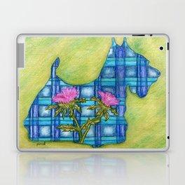 Scottish Terrier Silhouette Laptop & iPad Skin