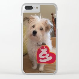 Macie Mae Clear iPhone Case