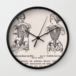 Effects of Corseting Wall Clock