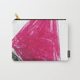 Triangle Wax Color Carry-All Pouch