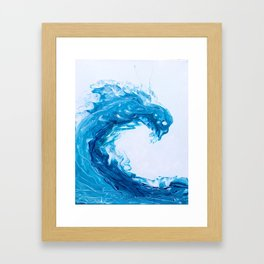 Whispering Waves Framed Art Print